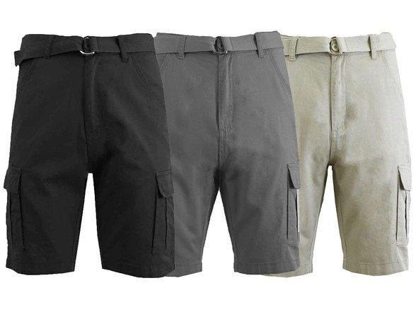 GBH男士工装运动短裤 3条