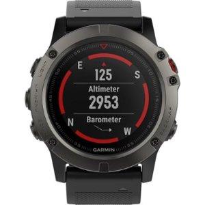 Garmin - fēnix® 5X Sapphire Smartwatch 51mm Fiber-Reinforced Polymer