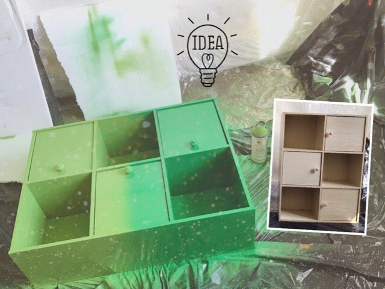 喷漆DIY,旧家具舍不得扔?拿来大改造吧!