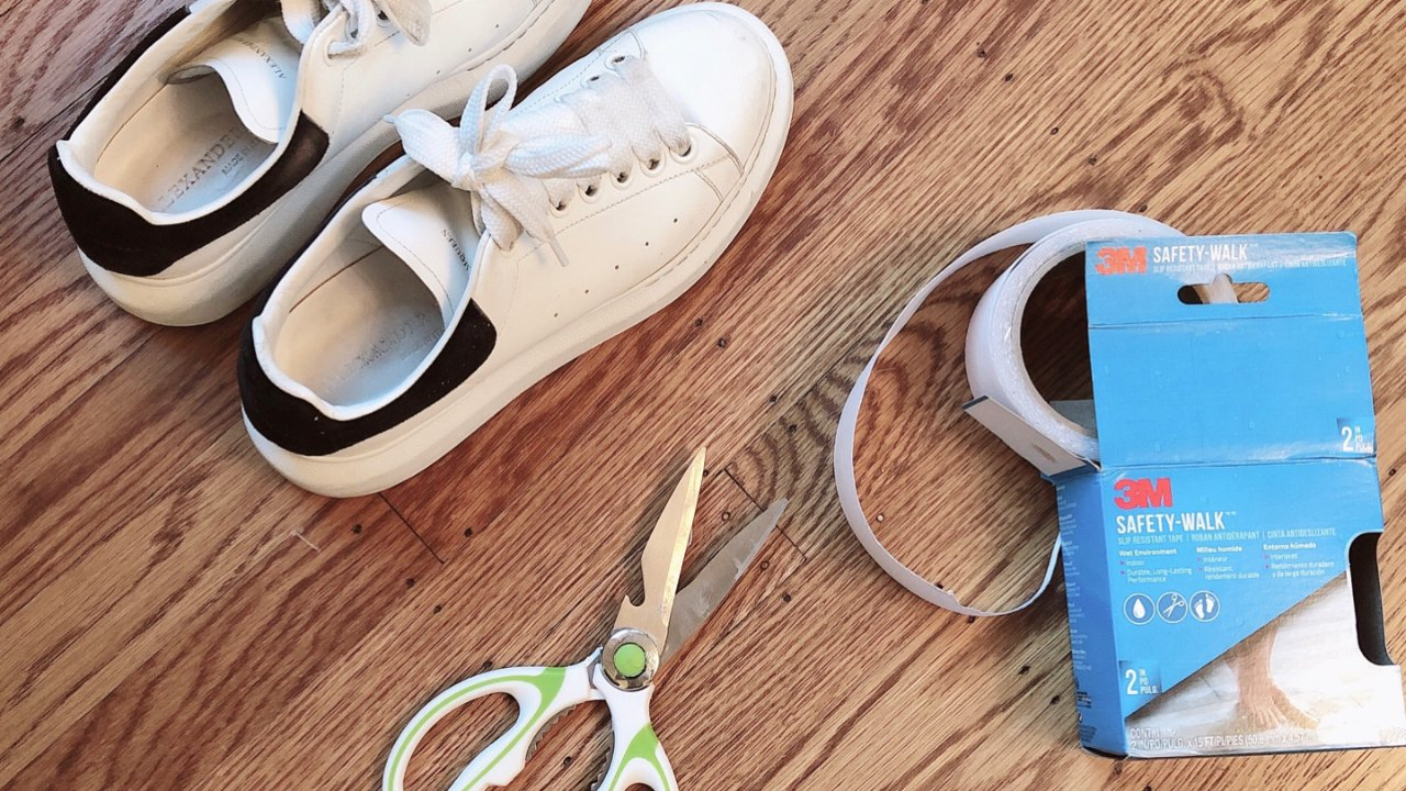 晒鞋不如晒鞋底 小妙招让你旧鞋变新鞋