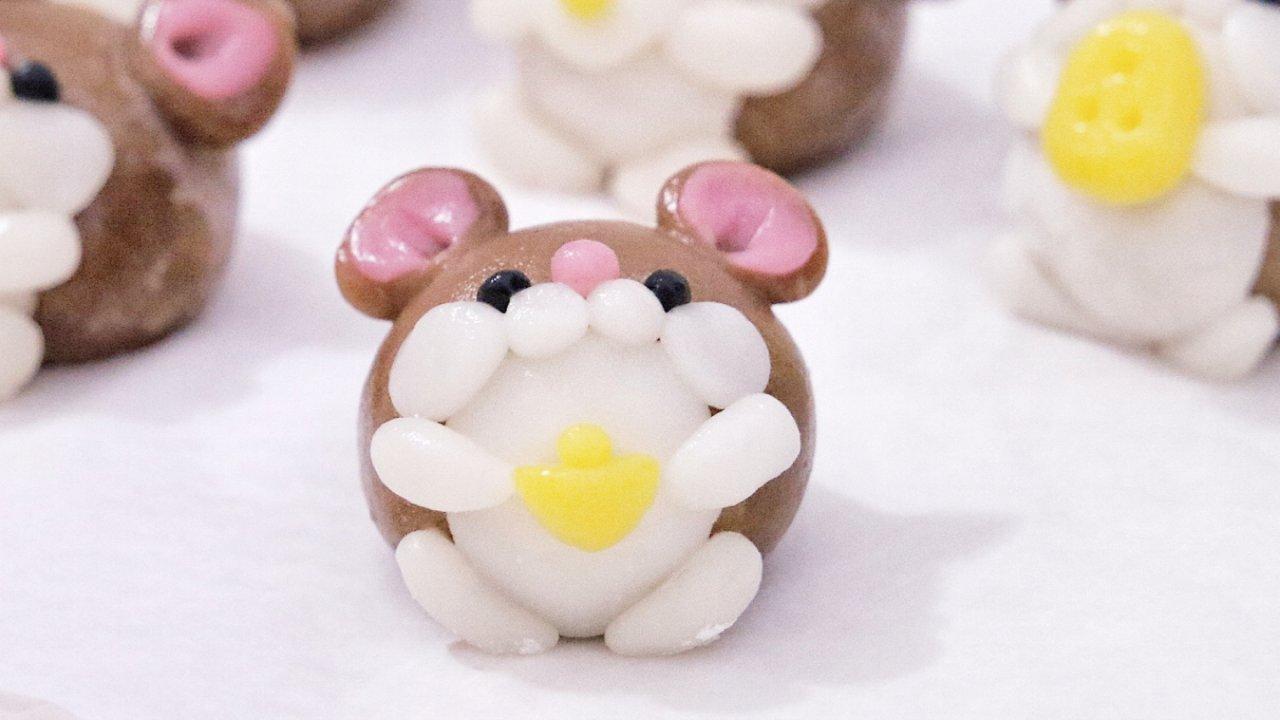 ㊙️自制汤圆❗️吃可爱长大的鼠年汤圆‼️萌化了