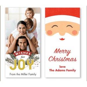 免费Walgreens 个人定制礼品标签10张