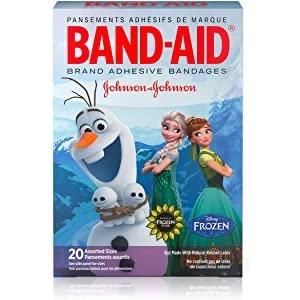 $2.98Band-Aid 冰雪奇缘卡通透气创可贴 20片 多种尺寸
