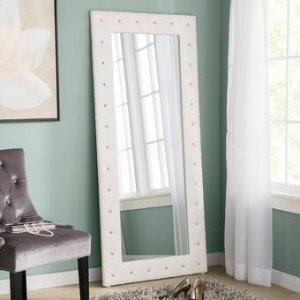 InRoom Designs Tufted Full Length Mirror & Reviews | Wayfair