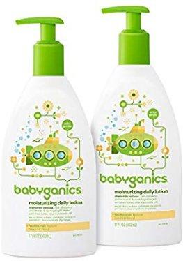 Amazon.com: Babyganics Daily Lotion, Chamomile Verbena, 16oz, 2 Pack, Packaging May Vary: Health & Personal Care