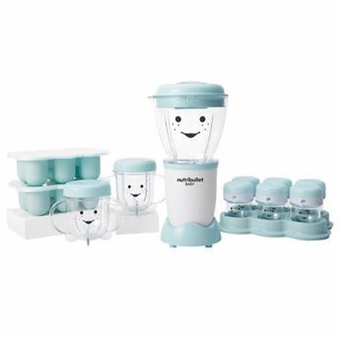Nutribullet Baby The Complete Baby Food Prep System