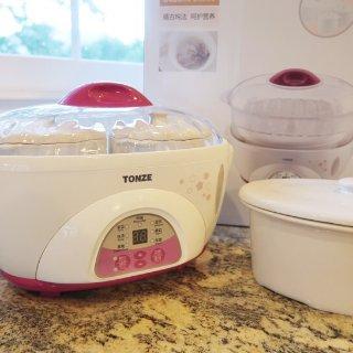 Tonze隔水电炖盅丨蒸炖一体,健康吃出来