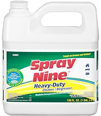 Amazon.com: Spray Nine 26801 Heavy Duty Cleaner/Degreaser and Disinfectant - 1 Gallon, (Pack of 1): Automotive消毒清洁