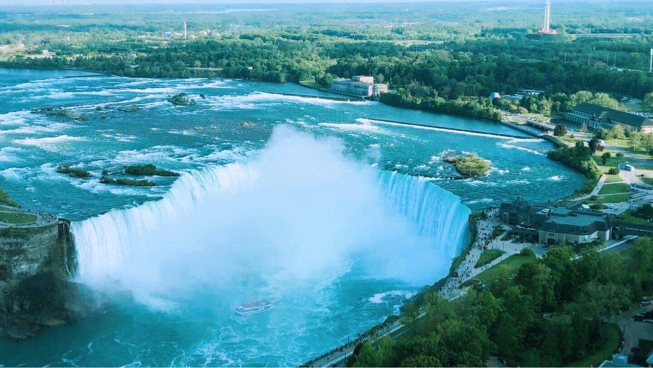 美到哭:各种视角下的尼亚加拉大瀑布