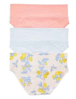 Maternity Fold Over Panties (3 Pack) | Motherhood Maternity