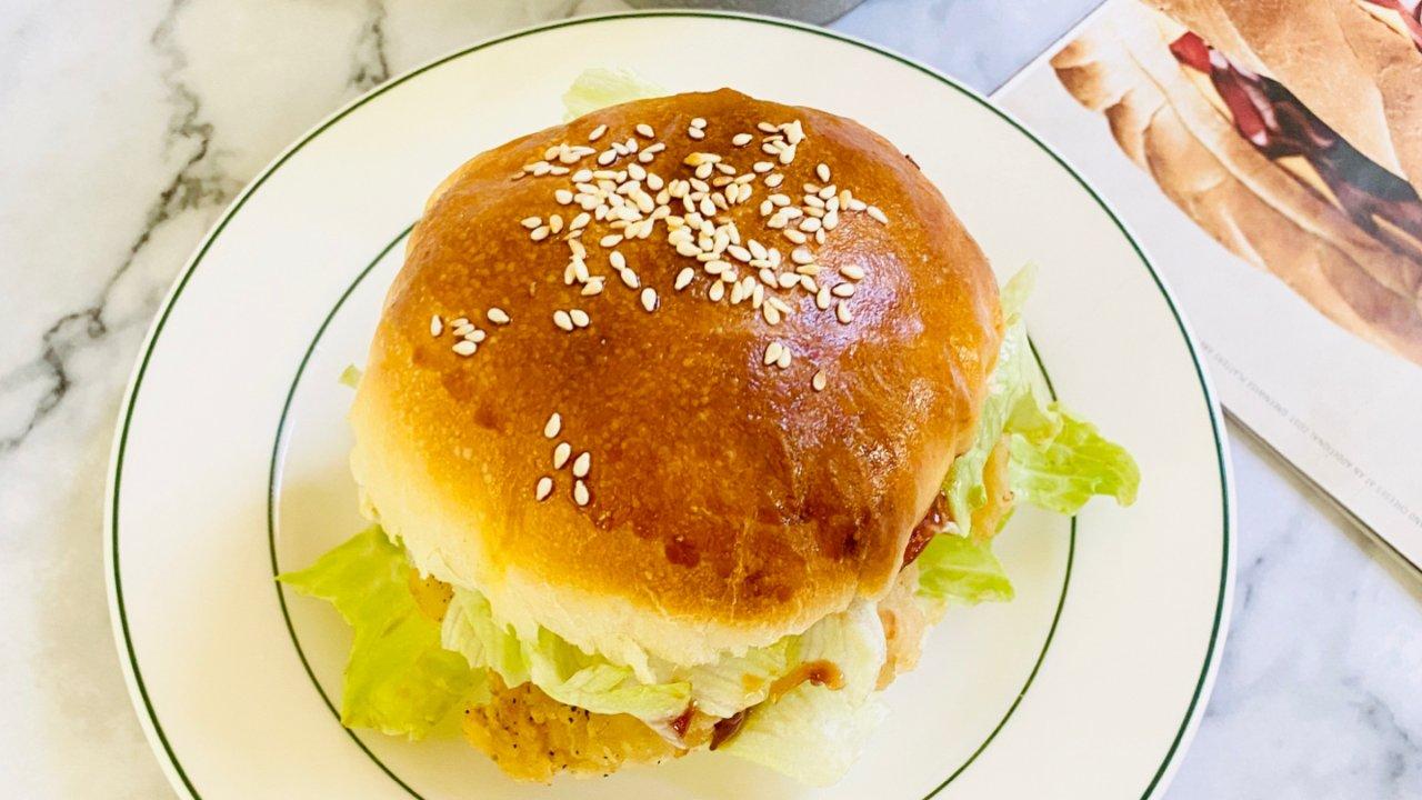 堪比肯德基爷爷家的香辣鸡汉堡
