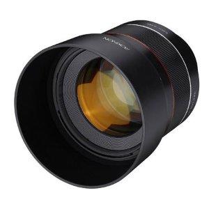45mm f/1.8 AF 仅$299Rokinon 85mm f/1.4 AF Sony-E卡口镜头 仅$549