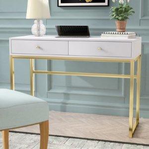 Willa Arlo Interiors Dayne Writing Desk & Reviews | Wayfair