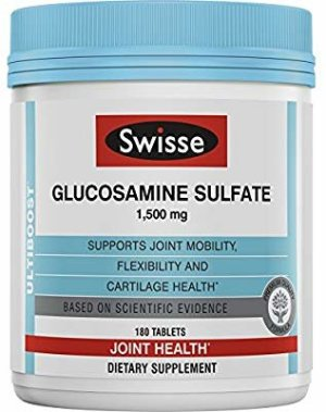 Amazon.com: Swisse Ultiboost Glucosamine Sulfate | Supports Joint Mobility & Cartilage Health | 1500 mg, 180 Tablets: Gateway