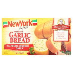 New York Bakery Pre-Sliced Garlic Bread, 2 count, 14 oz - Walmart.com