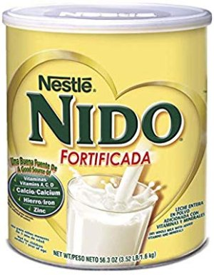 Amazon.com : NESTLE NIDO Fortificada Dry Milk 56.3 Ounce Canister : Powdered Milk : Gateway