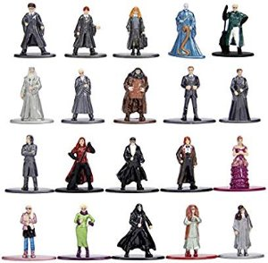Jada Nano Metalfigs Harry Potter 20 Pack Wave 3 Die-Cast Figures, 1.65