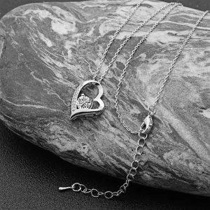 Jane 镀金施华洛世奇水晶心形项链 两色可选