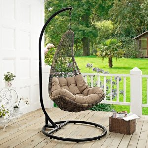 World Menagerie Gemmenne Swing Chair with Stand & Reviews | Wayfair