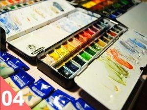 【角虫繁殖计划】从0开始,学画画~【绘画篇-水彩工具&开脑洞】_绘画_生活_哔哩哔哩