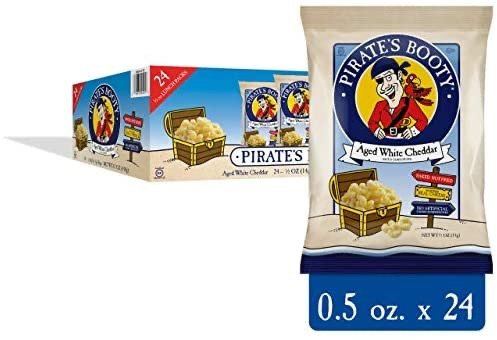 Pirate's Booty 切达芝士泡芙 0.5oz 24小袋