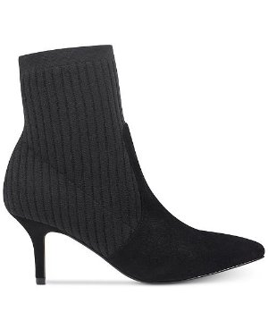 Marc Fisher Albinia Sock Booties - Boots - Shoes - Macy's