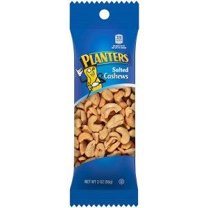 $13.63 一包仅$0.91Planters 盐烤腰果随身包  2oz 15袋