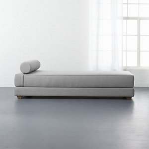 lubi silver grey sleeper daybed + Reviews | CB2