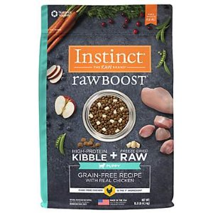 Instinct Raw Boost Puppy Grain Free Recipe with Real Chicken Natural Dry Dog Food by Nature's Variety | Petco