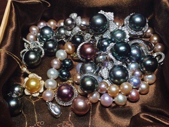 科普贴:黑珍珠白珍珠,关于珍珠的碎碎念