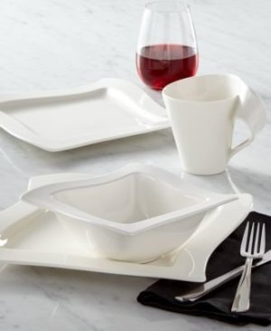 Villeroy & Boch New Wave Collection 12-Pc. Dinnerware Set, Created for Macy's - Dinnerware - Dining & Entertaining - Macy's