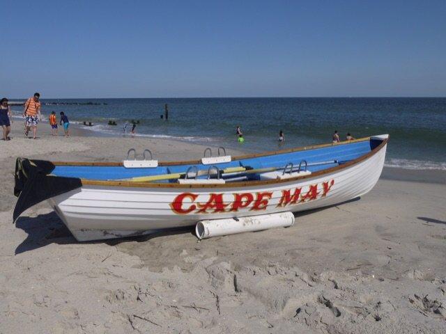 周末新泽西最南端Cape May休...