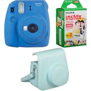 $59.99FujiFilm Instax Mini 9 拍立得相机 + 20张相纸 + 相机包