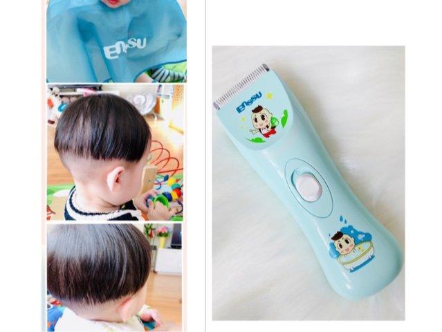 给宝宝理发| Enssu婴幼儿理发器测评
