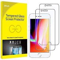 JETech 钢化膜 2片装 适用于 8和iPhone 7
