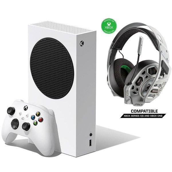 Xbox Series S 主机 + RIG 500 PRO EX 耳机