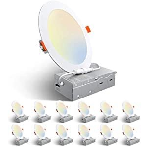 Amico LED嵌入式吸顶灯6个装
