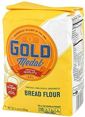 Amazon.com : Gold Medal Better For Bread Flour, 5 lb : Grocery & Gourmet Food