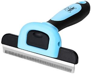 : Amazon.com: Pet Grooming Brush Effectively Reduces Shedding by Up to 95% Professional Deshedding Tool for Dogs & Cats