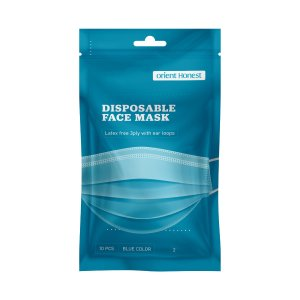 $7.2910 ct. Pack, Disposable 3-Ply Face Masks