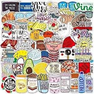 BLINKEEN Fresh Vine Stickers Pack 102pcs