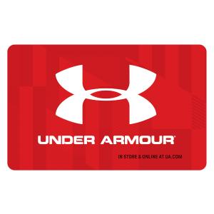 $50Under Armour $60 礼卡