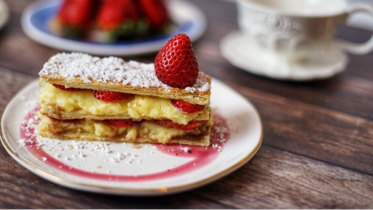 一起來做拿破仑蛋糕吧🍰 懶人甜點多图教学