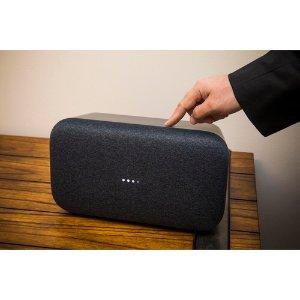 $199 音质棒呆Google Home Max 智能音箱 送智能插座和32GB MicroSDXC