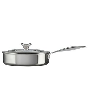 Le Creuset 3 Qt Stainless Steel Saute Pan & Reviews - Cookware & Cookware Sets - Kitchen - Macy's