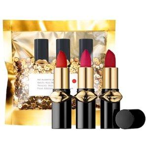 LUST: Mini MatteTrance™ Lipstick Trio - PAT McGRATH LABS   Sephora