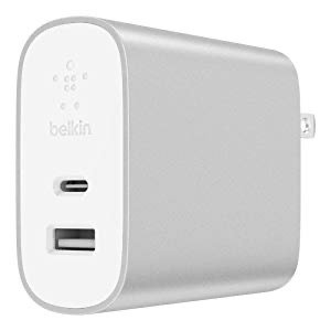 Belkin Boost Charge 27W USB-C + 12W USB-A Wall Charger