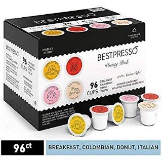 $24.14Bestpresso Coffee, Variety Pack Single Serve K-Cup, 96 Count