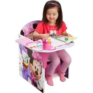 $31.98Delta Children 迪士尼儿童木质连桌椅 带收纳盒