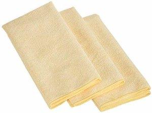 Amazon.com: AmazonBasics Thick Microfiber Cleaning Cloths - 3 Pack: Automotive